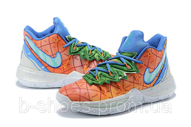 Мужские Баскетбольные кроссовки Nike Kyrie 5(Orange/blue)