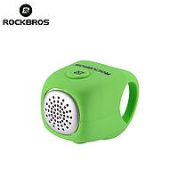 Велозвонок электронный громкий RockBros C2F велосипедный звонок, сигнал, гудок, клаксон для велосипеда Зеленый