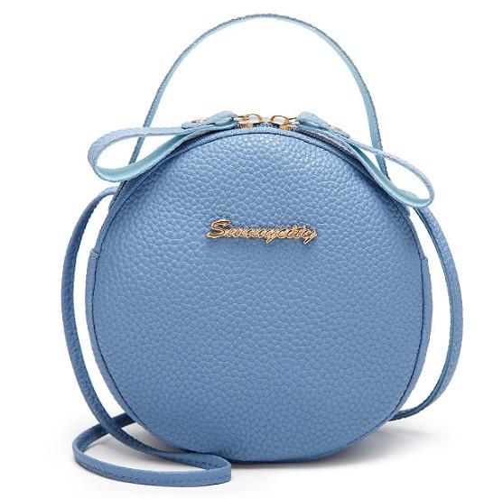 Женская сумка клатч Linda blue