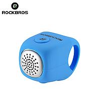Велозвонок электронный громкий RockBros C2F велосипедный звонок, сигнал, гудок, клаксон для велосипеда Синий