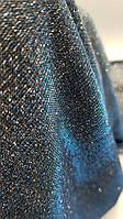 Мерцающий трикотаж Хамелеон модель № 3 - цвет бирюза / электрик /серебро