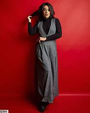 Платье сарафан+гольф размеры: 50-56, фото 3