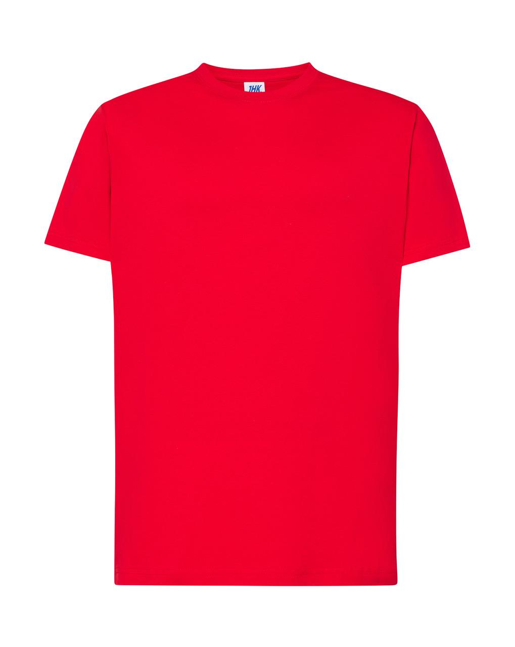 Мужская футболка JHK REGULAR PREMIUM T-SHIRT цвет красный (RD)