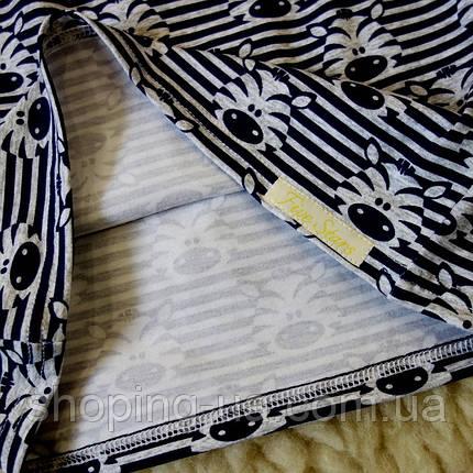 Стильная водолазка - гольф зебры Five Stars KD0280-110p, фото 2