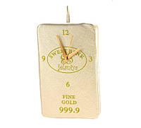 Настенные часы из ткани Слиток золота