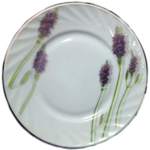 "Тарелка стеклокерам. 200мм 8"" мелкая Lavender уп.6шт"