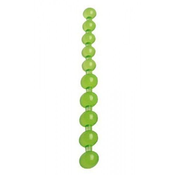 Распродажа! анальные зеленые бусинки