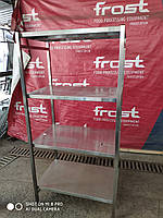 Металлический кухонный стеллаж 1200*500*1800 4 полки