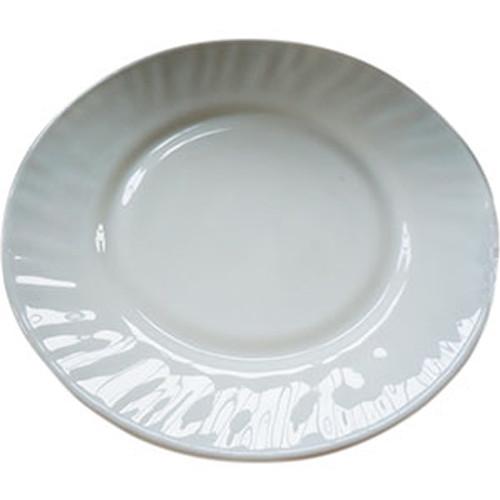 """Тарелка стеклокерам. 200мм 8"""" мелкая без деколи уп.6шт"""