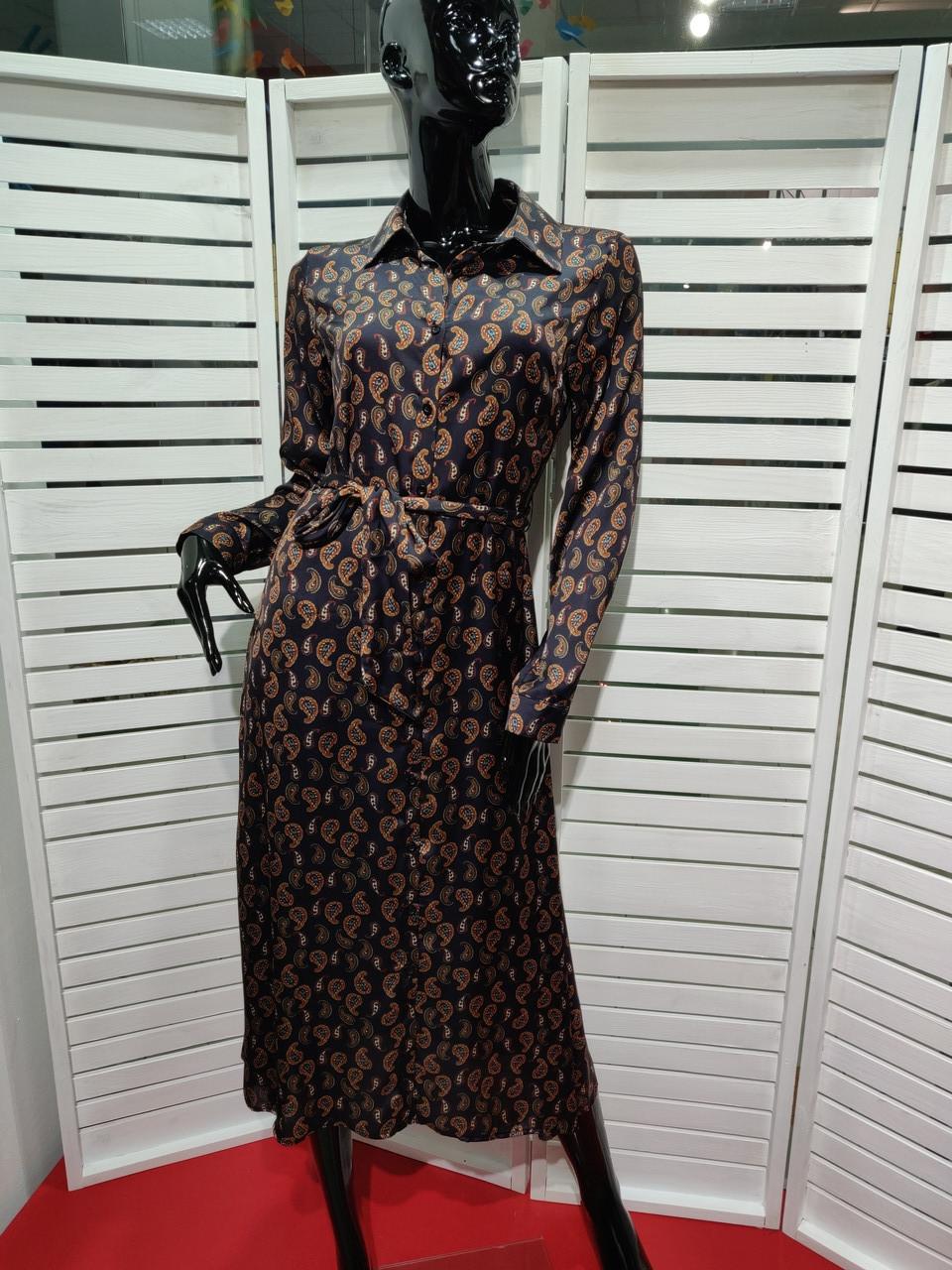 Платье шелковое Kontatto