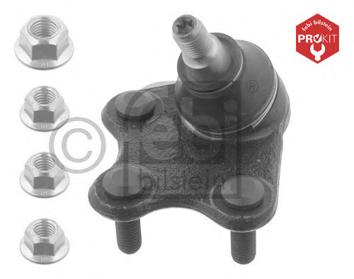 Шаровая низ. VW Polo (09>) SK Fabia/Roomster/Rapid (08>) SE Ibiza (08>) правая Febi 36052