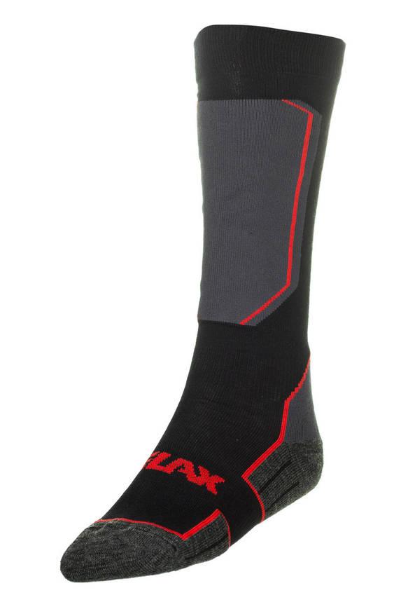 Шкарпетки лижні Relax Carve RS033 XL Black-Grey, фото 2