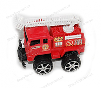 Пластиковая пожарная машинка