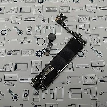 Материнская плата Apple iPhone 7 Never Lock с Touch ID Black 32Gb оригинал с разборки (100% рабочая)