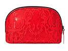 Victoria's Secret Косметичка Bold Floral Beauty Bag, Красная с цветами, фото 2