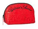 Victoria's Secret Косметичка Bold Floral Beauty Bag, Красная с цветами, фото 4