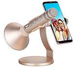 Микрофон Momax K-MIC PRO BT (Gold), фото 2