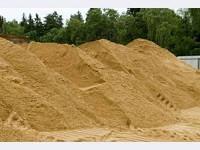 Песок карьерный, строительный, мытый, сухой, сеяный с доставкой