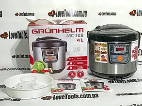 Мультиварка Grunhelm MC-108 мощность 900Вт 18 програм
