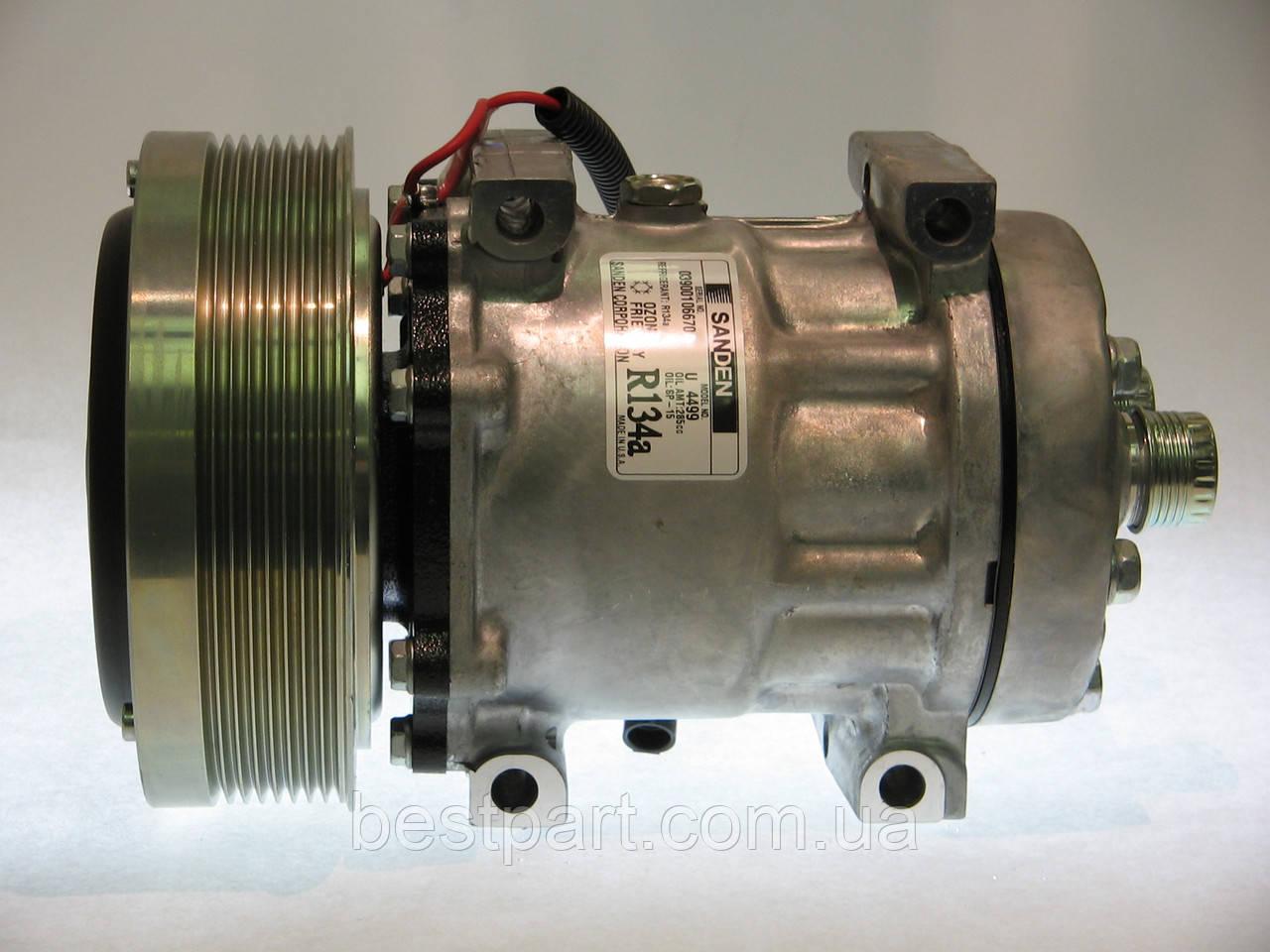 Компресор SANDEN SD7H15 8PK 152 mm. NEW HOLLAND