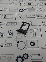 Сим лоток  Apple iPhone 7 черный Сервисный оригинал с разборки