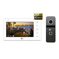 Комплект цветного видеодомофона NeoLight NeoKIT Pro Graphite