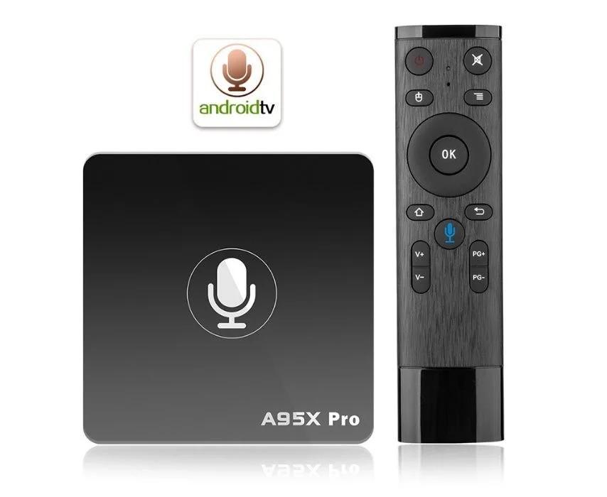 ПРИСТАВКА TV BOX NEXBOX A95X PRO 2GB/16GB AMLOGIC S905W ANDROID 7.1 ГОЛОСОВОЕ УПРАВЛЕНИЕ