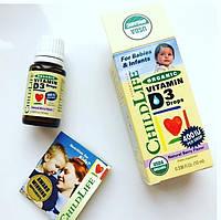 Витамин Д3 для новорожденных D-3 жидкий, 400 МЕ, 10 мл, Nature's Answer