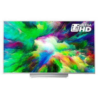 Телевизор Philips 49PUS7803/12 (PPI 1700/ Ultra HD/ Android/ Quad Core/ P5 Perfect Picture/ DVB-C/T/S/T2/S2)