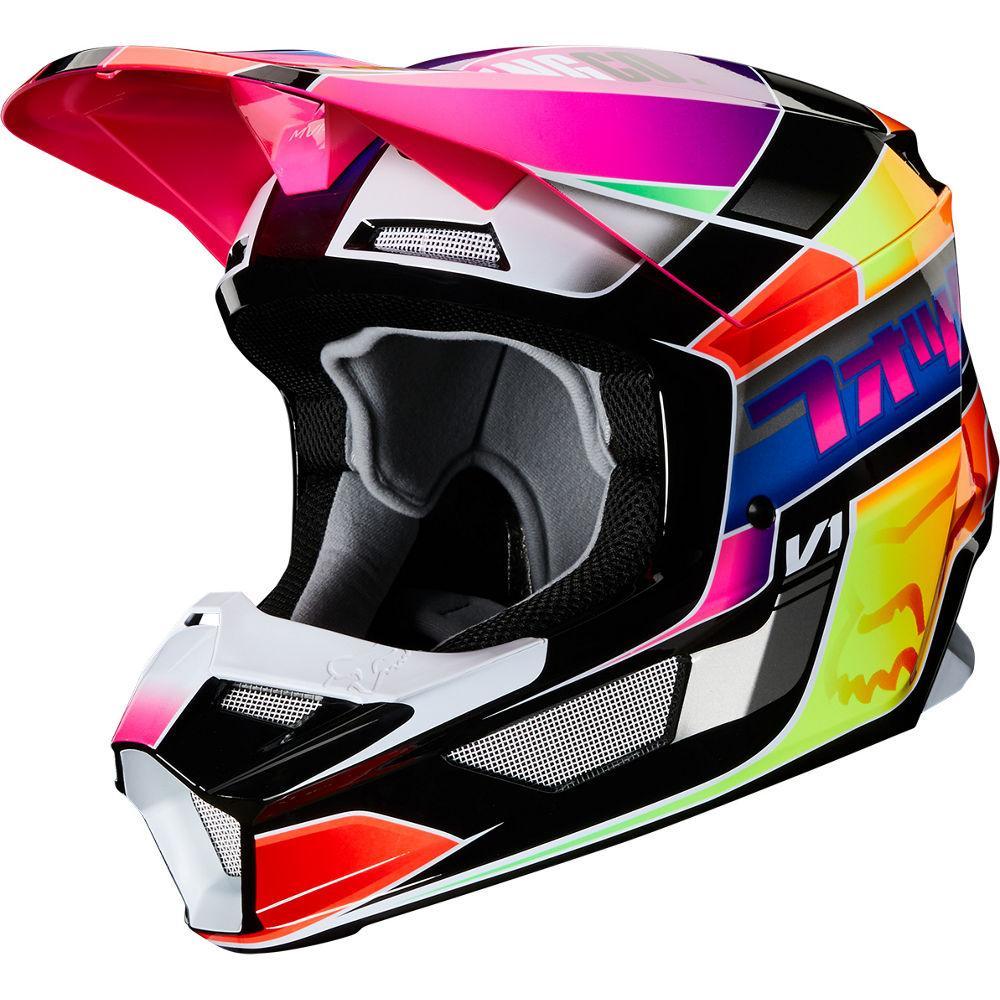 Мотошлем Fox V1 Yorr Helmet Multi, L