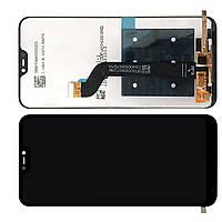 Дисплей Xiaomi Mi A2 Lite / Redmi 6 Pro модуль в зборі з тачскріном, чорний, Original (PRC)
