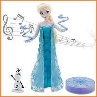 Кукла Disney Эльза Холодное сердце поющая Дисней / Elsa Frozen