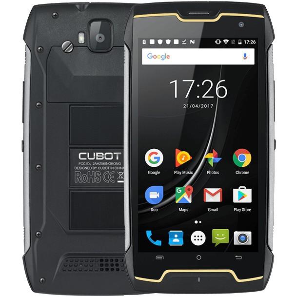 """Защищенный смартфон Cubot King Kong (2018) 2/16GB 5"""" DualSim Black (645271PLV)"""
