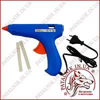 Клейовий пістолет, пістолет клей Miol 73-055 100W, термопістолет під клейовий стрижень 11мм