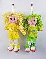 Детская куколка музыкальная игрушка для девочки кукла в сережках