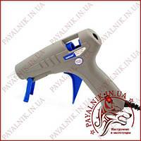 Пістолет клейовий, гарячий клей Holt Melt Glue Gun 80w, термопістолет під клейовий стрижень 11мм.