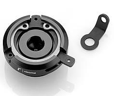 Крышка горловины маслобака Rizoma Oil filler cap Ducati/Honda/Kawasaki/Yamaha черная M20x2,5