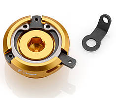 Крышка горловины маслобака Rizoma Oil filler cap Ducati/Honda/Kawasaki/Yamaha золотистая M20x2,6