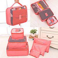 Набор 3+3 сумки - органайзеры дорожные. Make it Fun