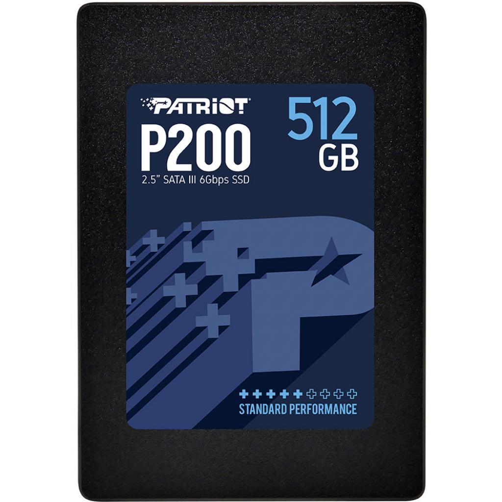 "Накопитель SSD 2.5"" 512GB Patriot (P200S512G25) ."