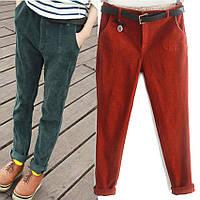 Вельветовые брюки-хулиганы