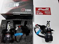 Лампа LED mini серия H4 12-24V 30W 6000K 4000Lm к-т пр-во Sigma