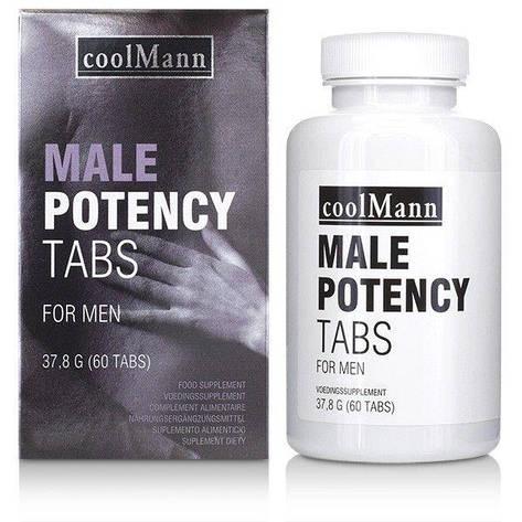 Таблетки для потенции COOLMANN MALE POTENCY TABS 60 TABS, фото 2
