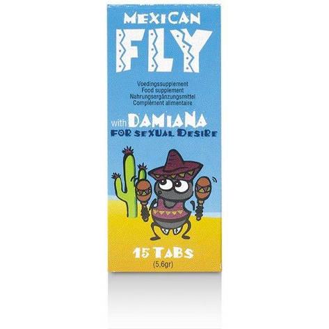 Возбуждающее средство Mexican Fly (15 tabs) EFS, фото 2
