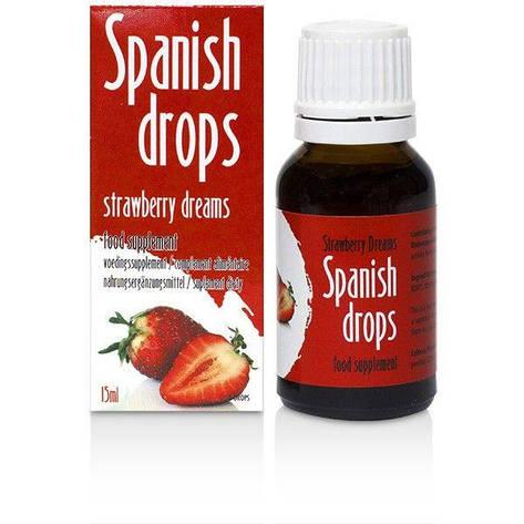 Возбуждающие капли Spanish Drops Strawberry Dreams (15ml), фото 2