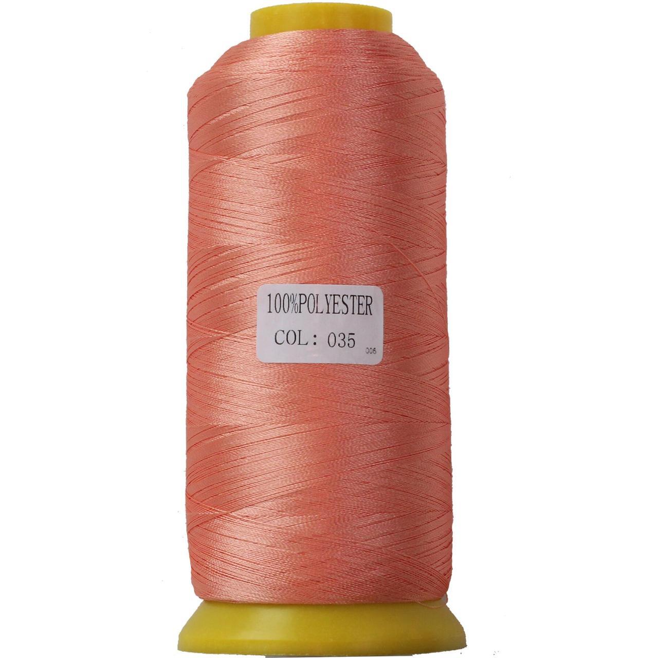 Нить полиэстер 40, 120D/2, цвет 035, Козачок-ТМ