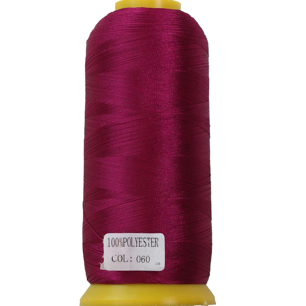 Нить полиэстер 40, 120D/2, цвет 060, Козачок-ТМ
