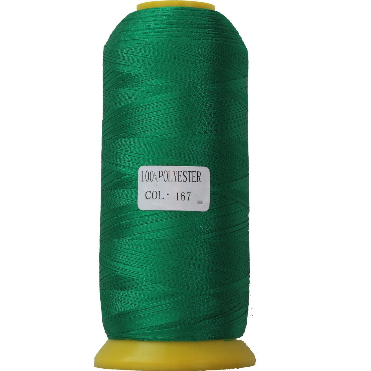 Нить полиэстер 40, 120D/2, цвет 167, Козачок-ТМ