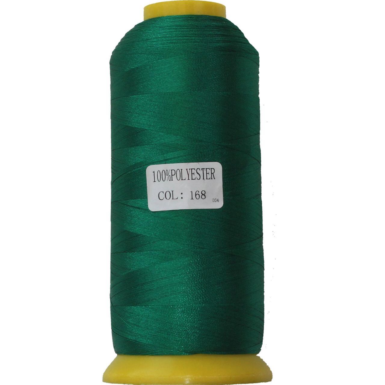 Нить полиэстер 40, 120D/2, цвет 168, Козачок-ТМ