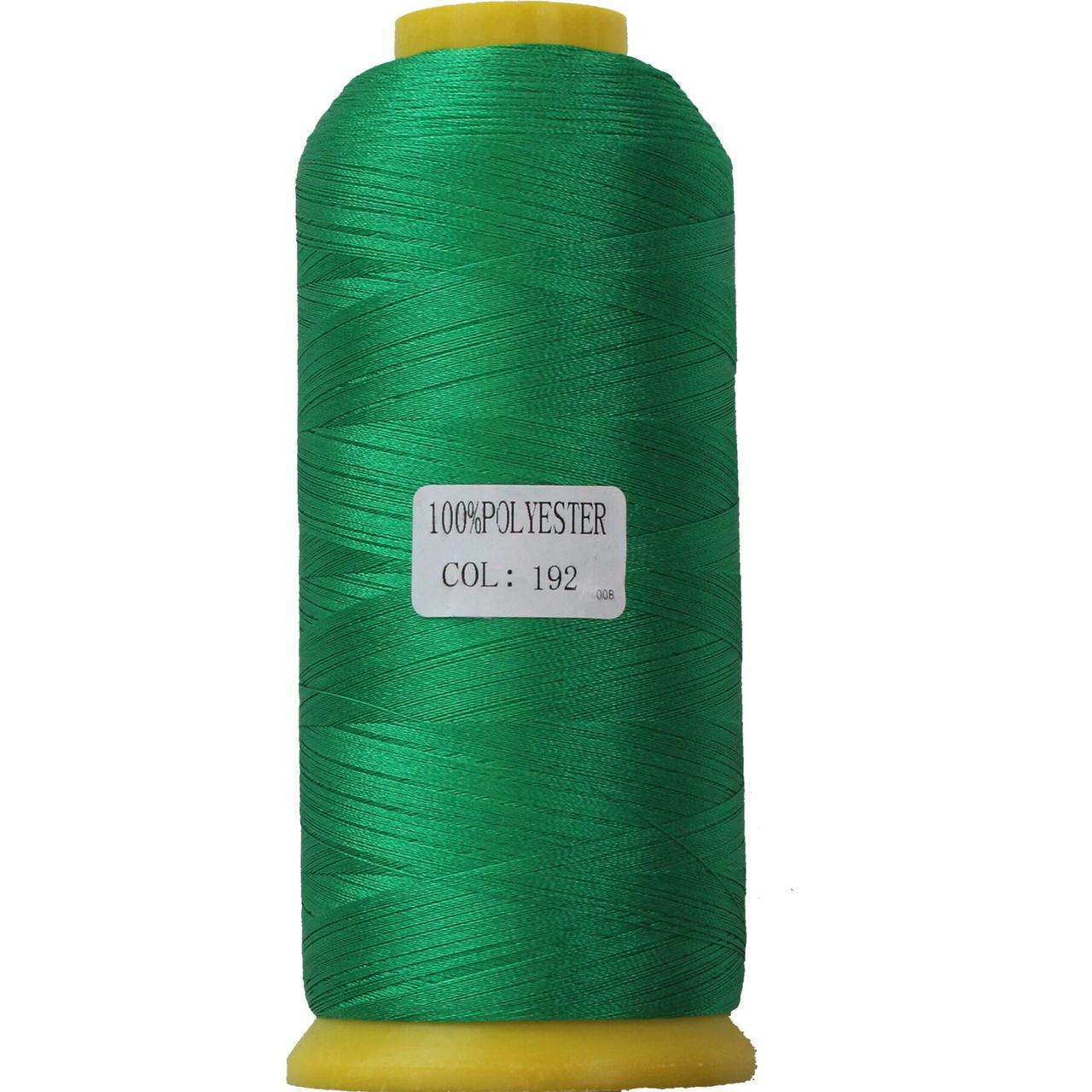 Нить полиэстер 40, 120D/2, цвет 192, Козачок-ТМ